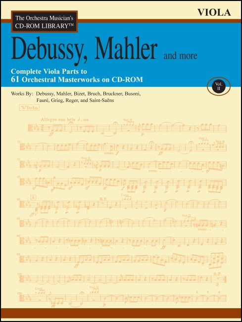 The Orchestra Musician's CD-ROM Library™, Volume 2 Viola