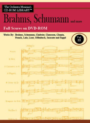 The Orchestra Musician's CD-ROM Library™, Volume 3 Full Scores [DVD-ROM]