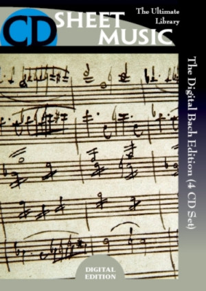 The Digital Bach Edition (4 CD-ROMs) - Click Image to Close