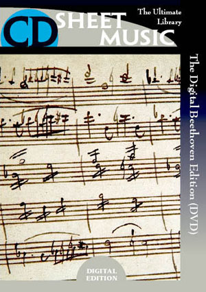 The Digital Beethoven Edition (DVD-ROM)
