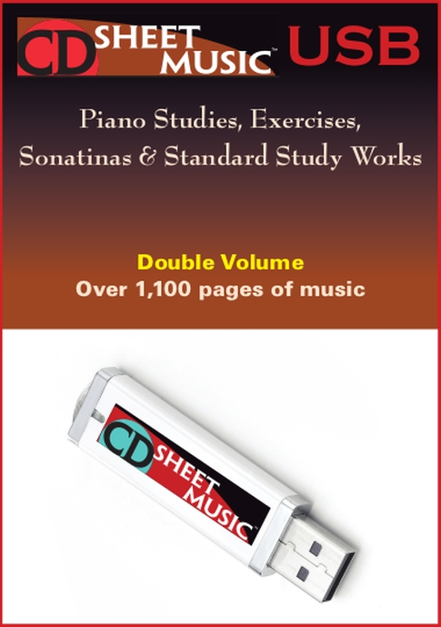 Piano Studies, Excercises, Sonatinas & Standard Study Works The Ultimate Collection