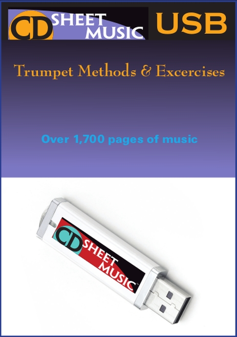 Classic Trumpet Methods & Exercises with Selected Repertoire