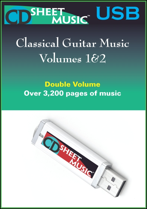 Classical Guitar Music: Volumes 1&2 for
