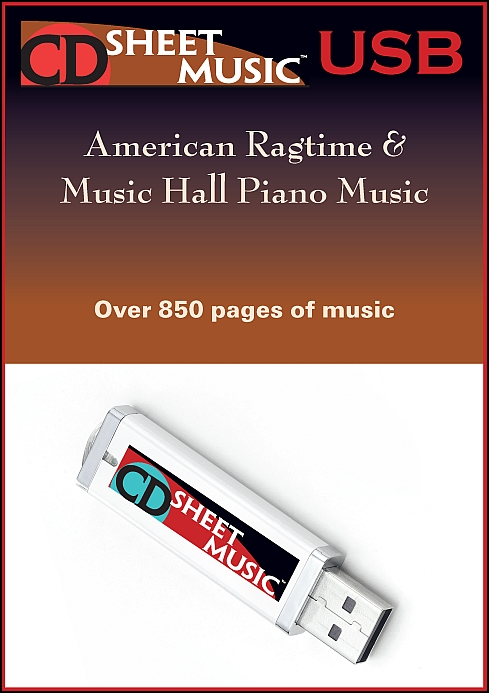 American Ragtime & Music Hall Piano Music
