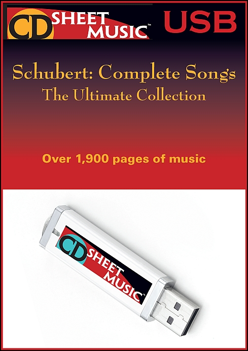 Schubert: Complete Songs for Voice & Piano