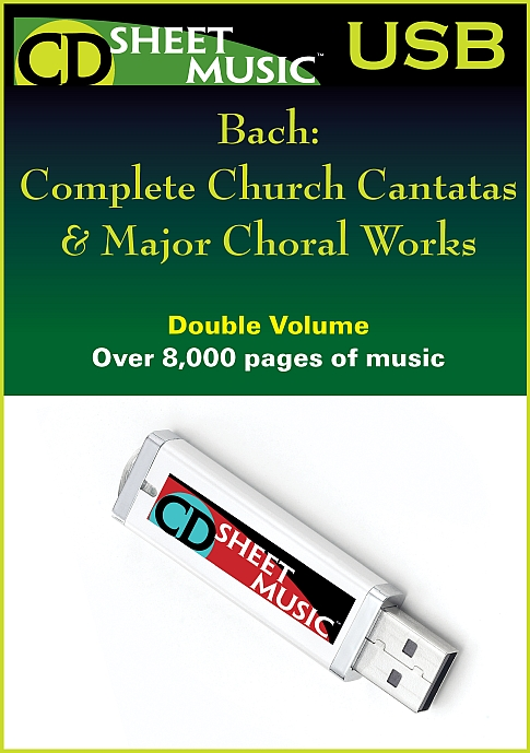 Complete Church Cantatas & Major Choral Works
