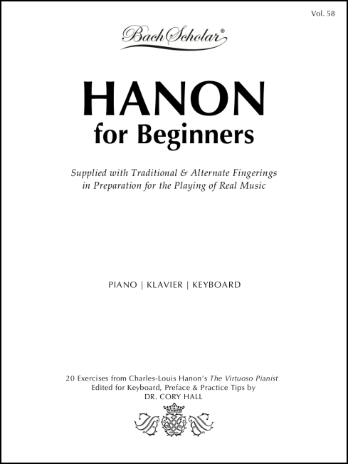 Hanon for Beginners for Piano/Keyboard