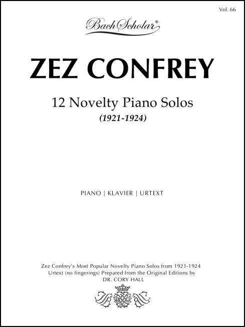 12 Novelty Piano Solos (BachScholar Edition Vol. 66) for Piano