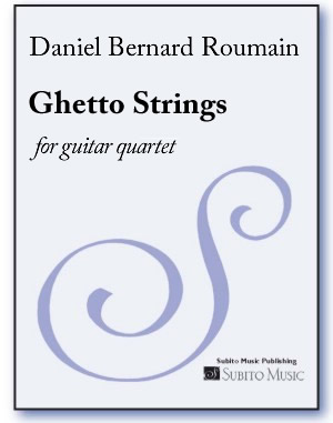 Ghetto Strings for guitar quartet - Click Image to Close