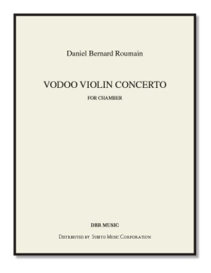 Voodoo Violin Concerto No. 1 for violin & orchestra