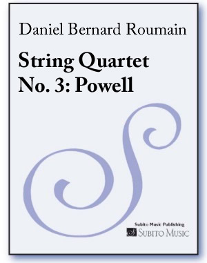 String Quartet No. 3: Powell