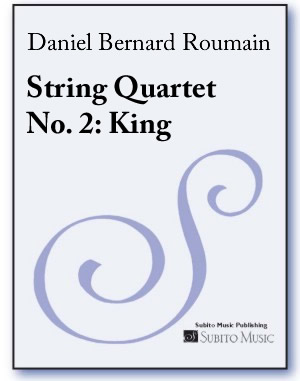 String Quartet No. 2: King