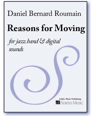 Reasons for Moving for jazz band & digital sounds