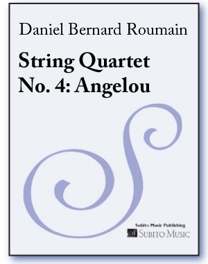 String Quartet No. 4: Angelou (parts)