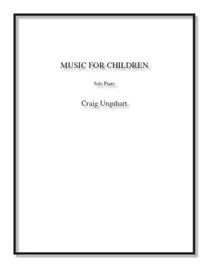 Music For Children for solo piano