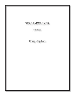 Streamwalker for solo piano