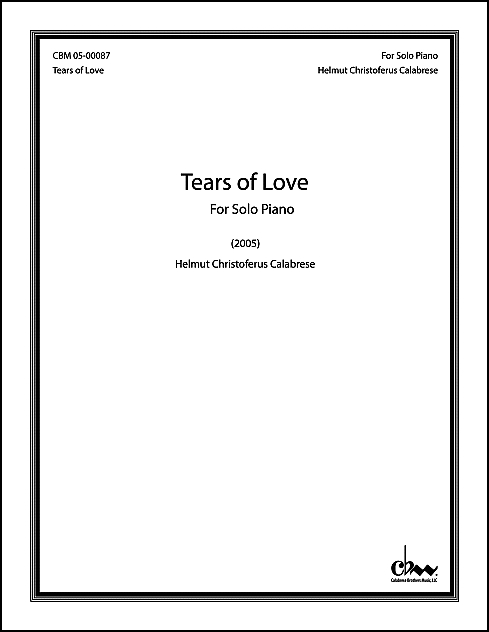 Tears of Love for Piano