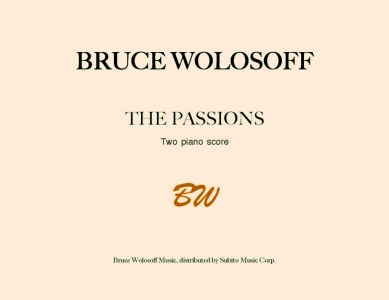The Passions for two pianos