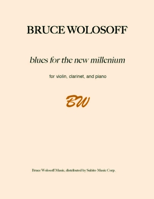 blues for the new millennium trio for violin, clarinet & piano