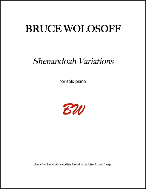 Shenandoah Variations for piano