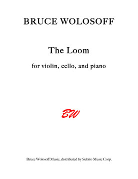 The Loom for Violin, Violoncello & Piano - Click Image to Close
