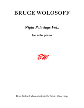 Night Paintings, Vol. 1 for Piano