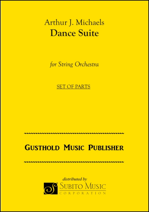 Dance Suite for String Orchestra & Percussion