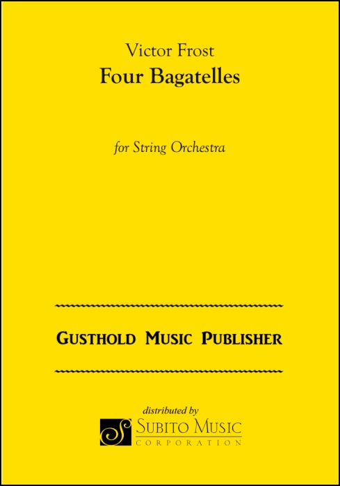 Four Bagatelles for String Orchestra
