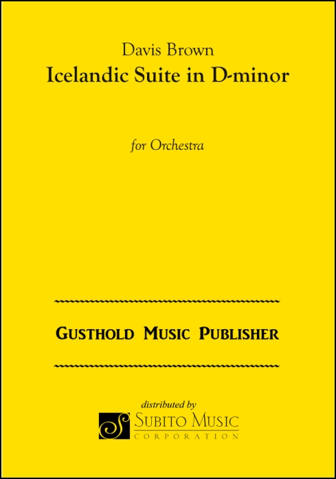 Icelandic Suite in D-minor for Orchestra