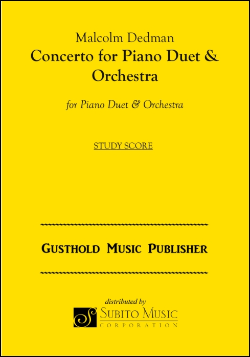 Concerto for Piano Duet & Orchestra for Piano Duet & Orchestra