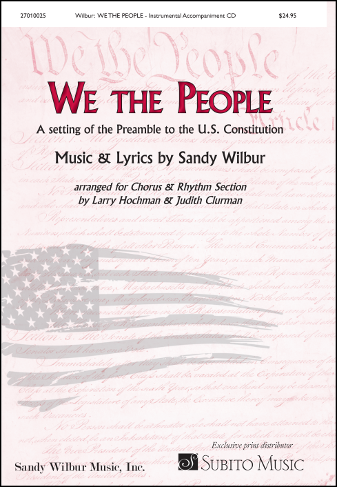 We the People Instrument accompaniment CD