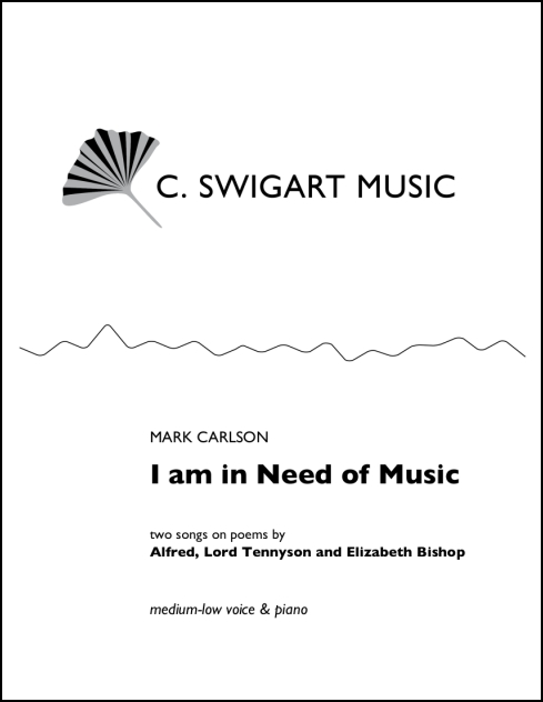 I Am in Need of Music for Medium-Low Voice & Piano