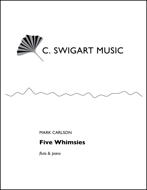Five Whimsies for Flute & Piano