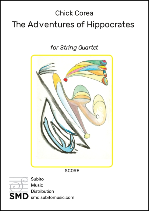 The Adventures of Hippocrates (score) for String Quartet