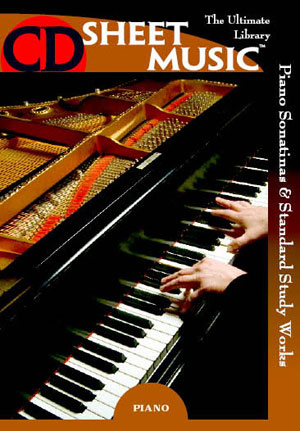 Piano Sonatinas and Standard Study Works: The Ultimate Collection