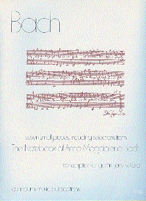 Seven Small Pieces (including selections from The Notebook of Anna Magdalena Bach ) for solo guitar - Click Image to Close