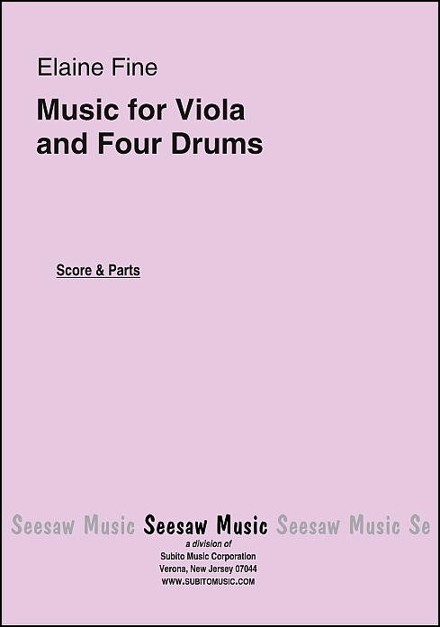 Music for Viola and Four Drums