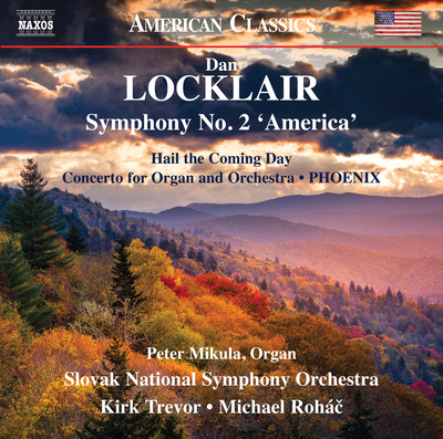 Locklair: Symphony No. 2 'America' [CD]