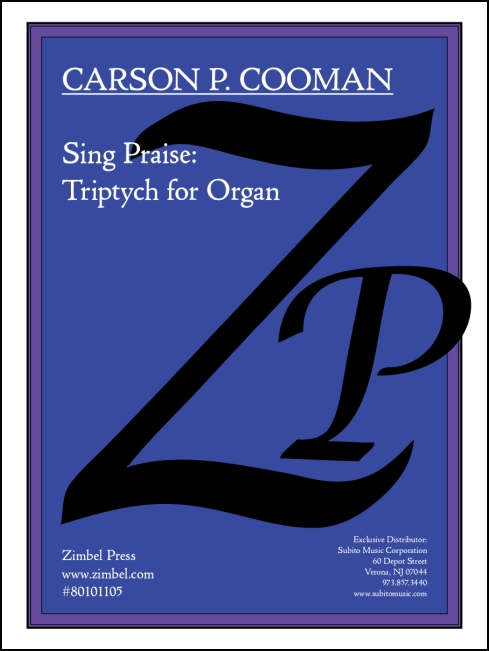Sing Praise: Triptych for Organ