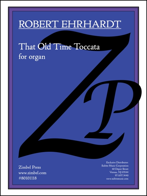 That Old Time Toccata for organ