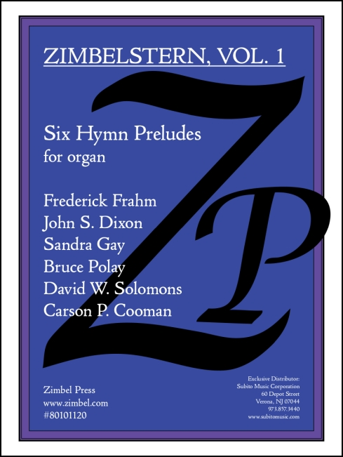 Zimbelstern Vol. I: Six Hymn Preludes for Organ