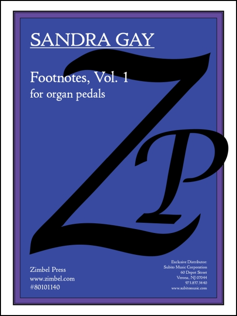 Footnotes, Vol. 1 for organ - Click Image to Close