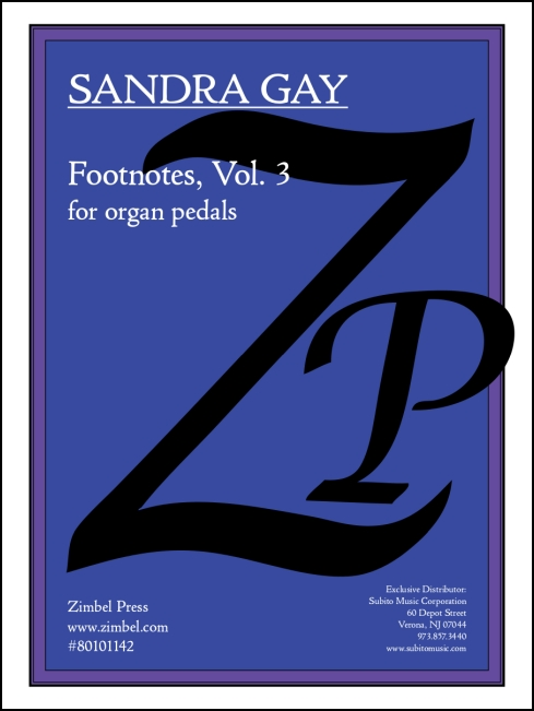 Footnotes, Vol. 3 for organ - Click Image to Close