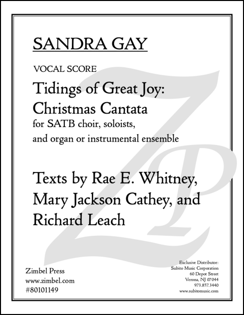 Tidings of Great Joy: Christmas Cantata