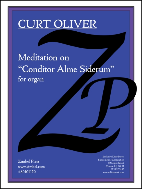 Meditation on Conditor Alme Siderum for organ