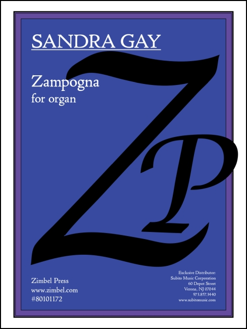 Zampogna for organ