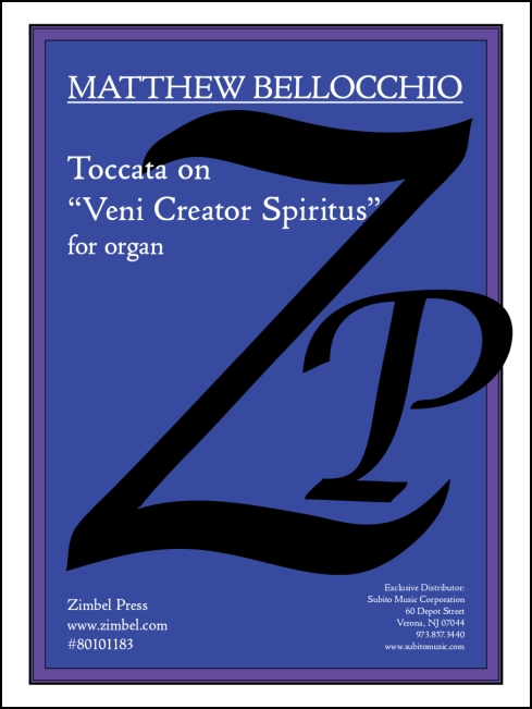 Toccata on Veni Creator Spiritus for organ