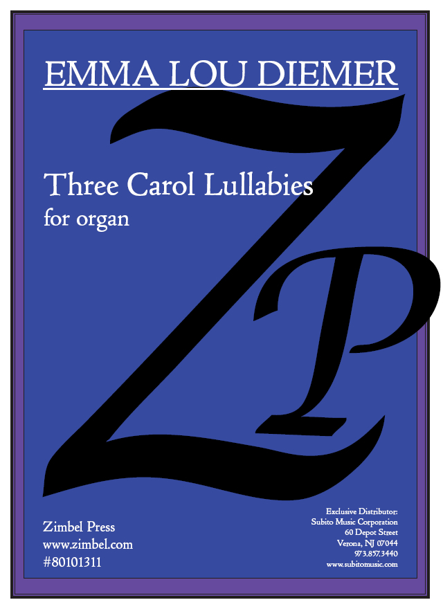 Three Carol Lullabies for organ