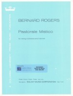 Pastorale Mistico for string orchestra & clarinet