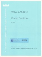 Modal Fantasy for piano
